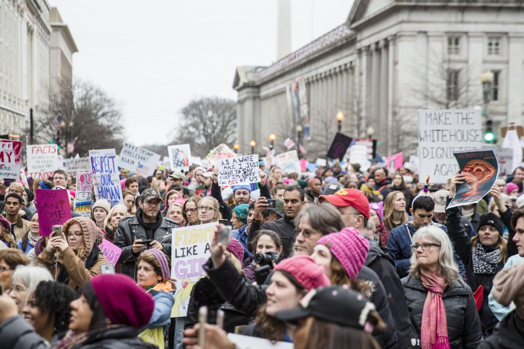 The protest streamed past the White House and cover streets in D.C.   ©Amanda Suarez/Culture Trip