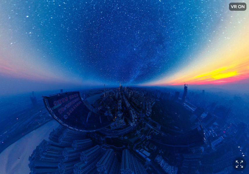 Professional - 360 - 1st - 'The Starry Night' |©Jingwen Chen / SkyPixel