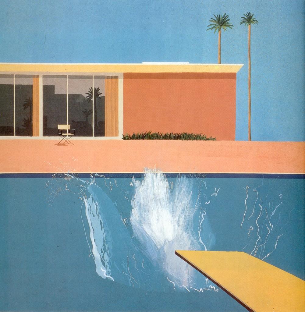 David Hockney, 'A Bigger Splash' (1967). Courtesy of Ian Burt/Flickr