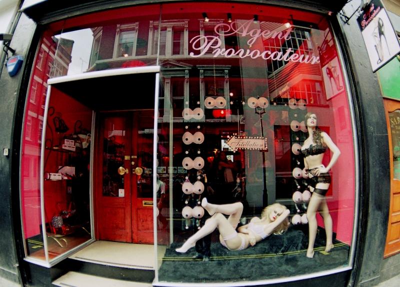 Agent Provacateur shop window