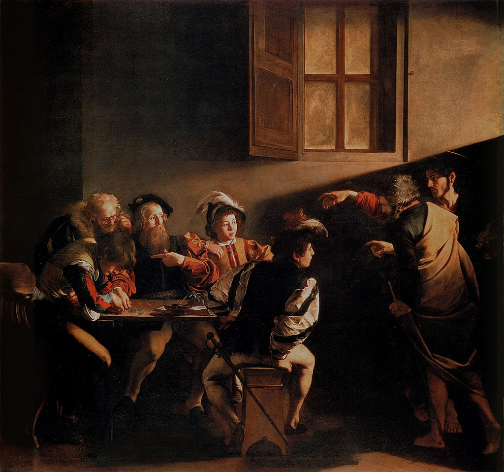 The Calling of Saint Matthew (1599–1600) | © Public domain/WikiCommons