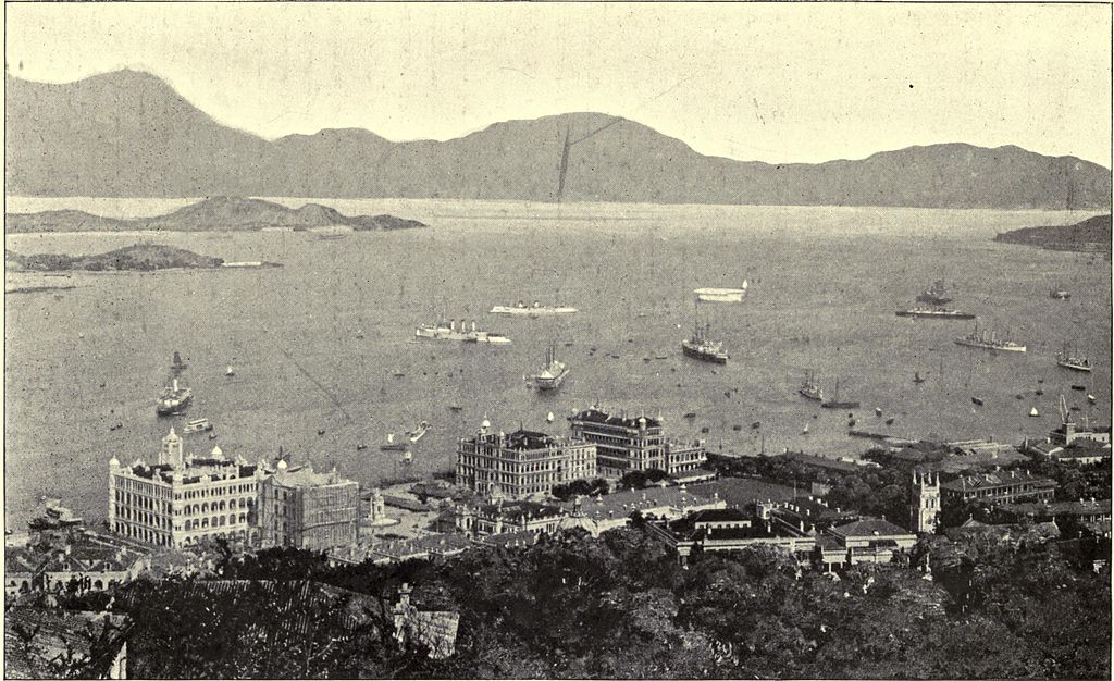 Victoria Harbour c.1899 | Wikimedia Commons
