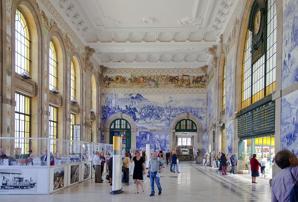 São Bento Station © Diego Delso / Wikimedia Commons
