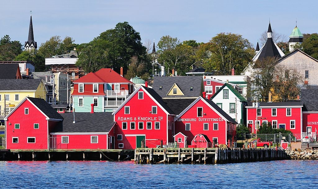 Lunenburg's Waterfront | © Wikimedia Commons