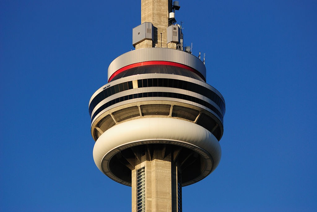 Main Pod of the CN Tower | © Wladyslaw / WikiMedia Commons