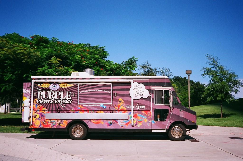 Purple People Eatery Food Truck | Phillip Pessar/Flickr