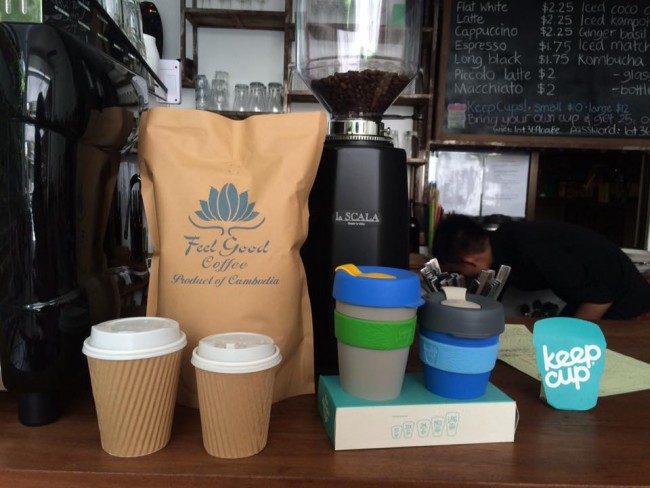 Feel Good Cafe has a strong reputation for its coffee © Feel Good Cafe