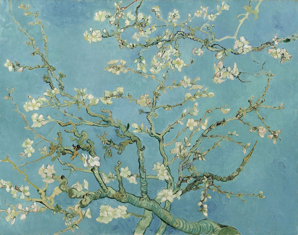 Vincent van Gogh: Almond Blossoms, 1888 | © WikiCommons / The Van Gogh Museum