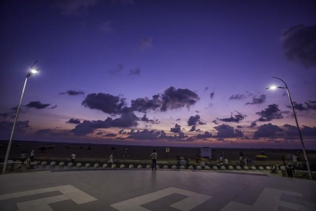 Marina Beach after the facelift | ©Sriram Jagannathan / Flickr