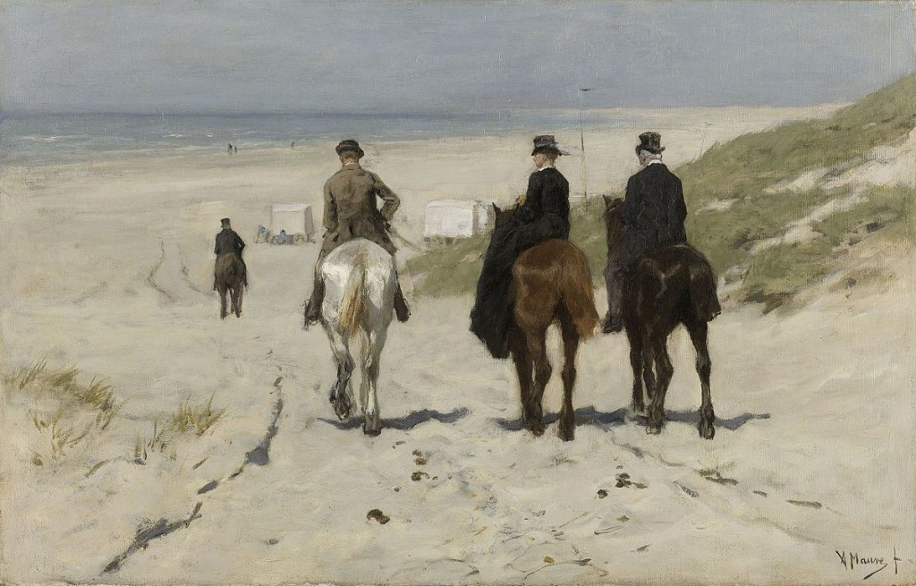 Anton Mauve: Morning Ride on the Beach, 1876 | © WikiCommons / the Rijksmuseum