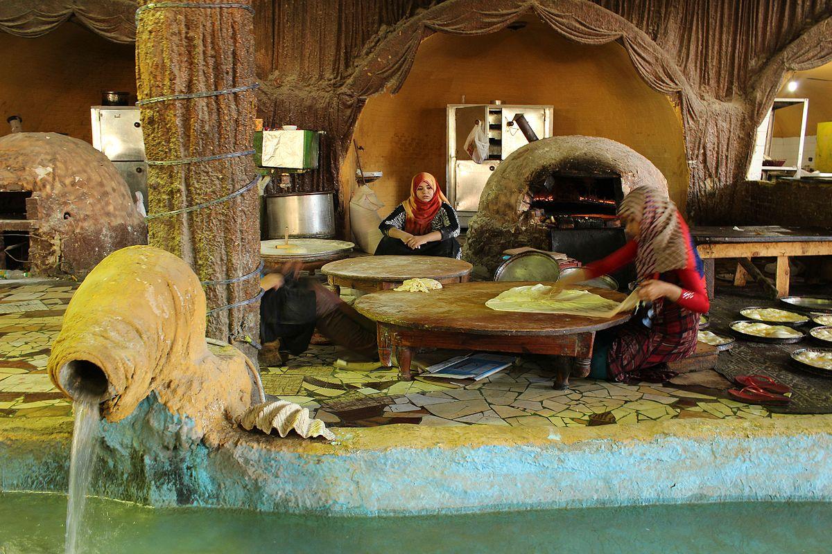 Women Baking Fiteer