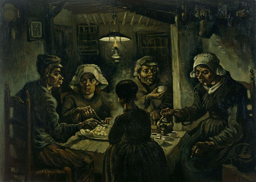 Vincent Van Gogh: The Potato Eaters, 1885 | © WikiCommons