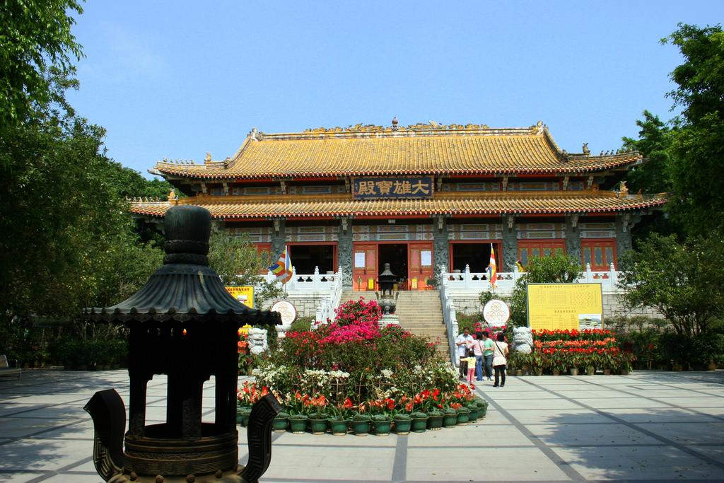 Po Lin Monastery   © Matt Watts/Flickr