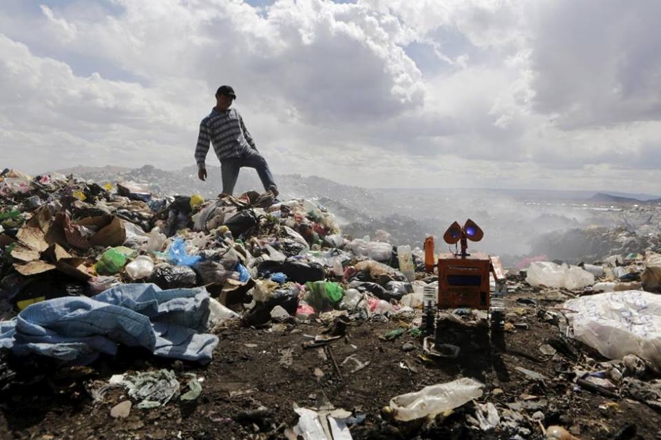 The local rubbish dump | © Esteban Quispe Churata