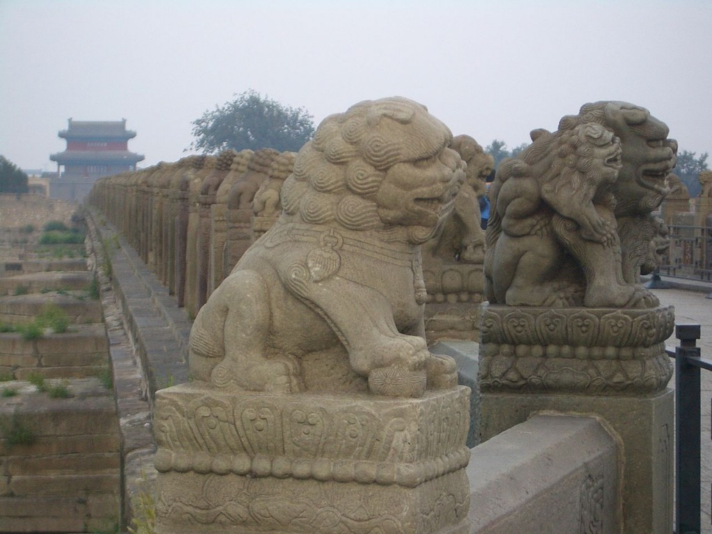 Lugou Bridge Lions|©Vmenkov/Wikimedia Commons