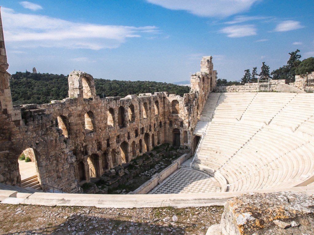 The Reconstructed Theatre of Herodes Atticus | © Sharat Ganapati/Flickr