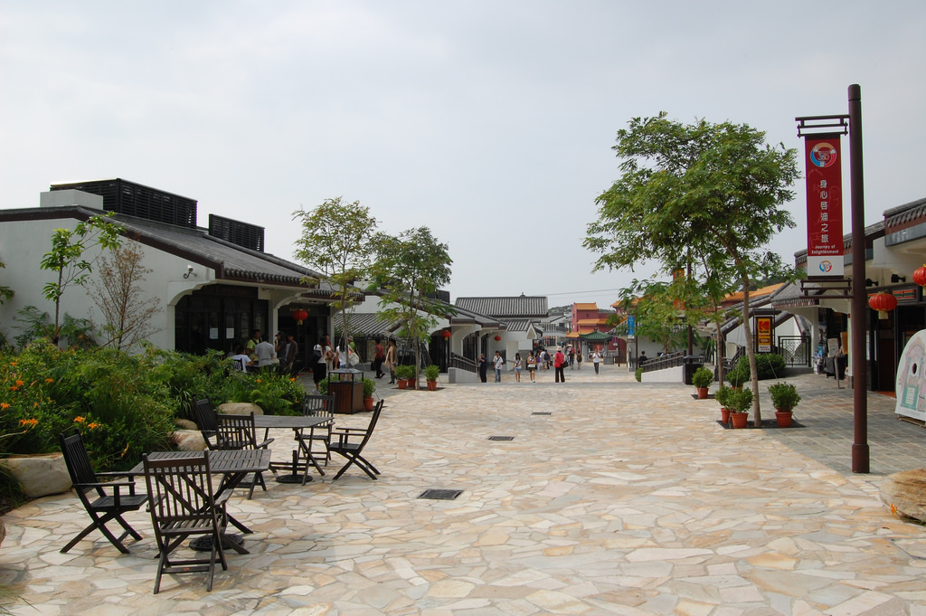 Ngong Ping Village | © Edwin Lee/Flickr