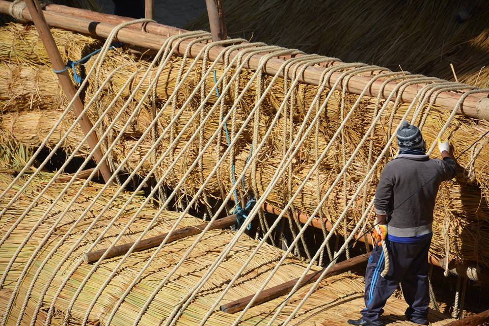 Constructing the boat | © Phil Buck