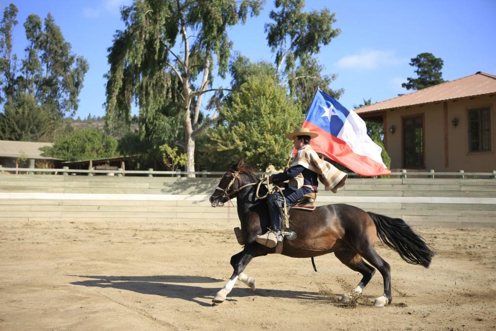 Rodeo - Central region © Turismo Chile