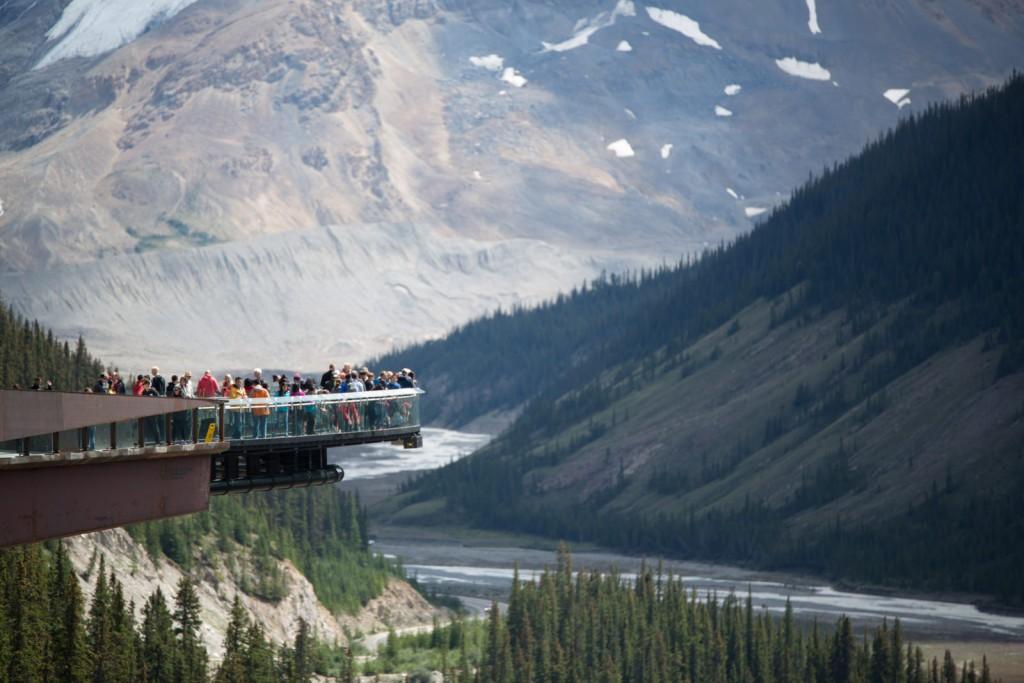 Glacier Skywalk in Jasper National Park | © Norio Nakayama / Flickr