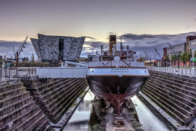 Titanic Belfast and SS Nomadic   © Titanic Belfast/ Flickr
