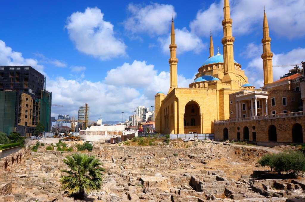 Phoenician ruins in downtown Beirut |© J.Elliott / Flickr