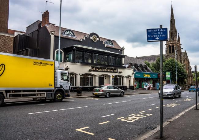Ye Olde Eglantine Inn | © William Murphy/ Flickr