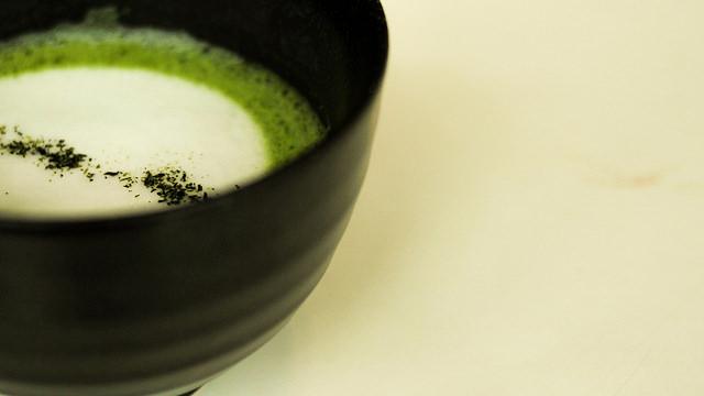 A cup of matte latte