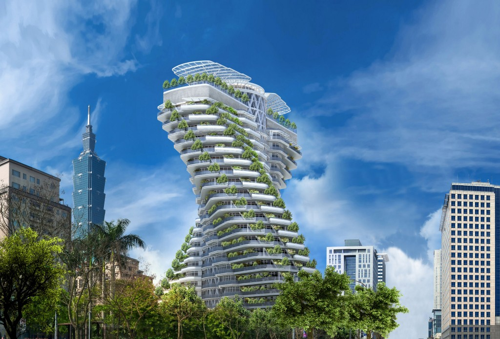 Vincent Callebaut Architectures - 陶朱隱園 - rendering 01|© 準建築人手札網站 Forgemind ArchiMedia Follow / Flickr