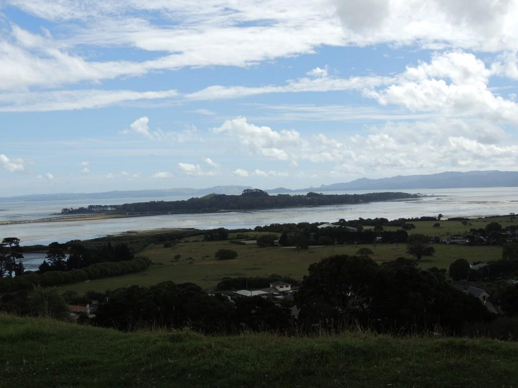Manukau Harbour - Taken from Mangere Mountain   © Jennifer Whiting/Flickr