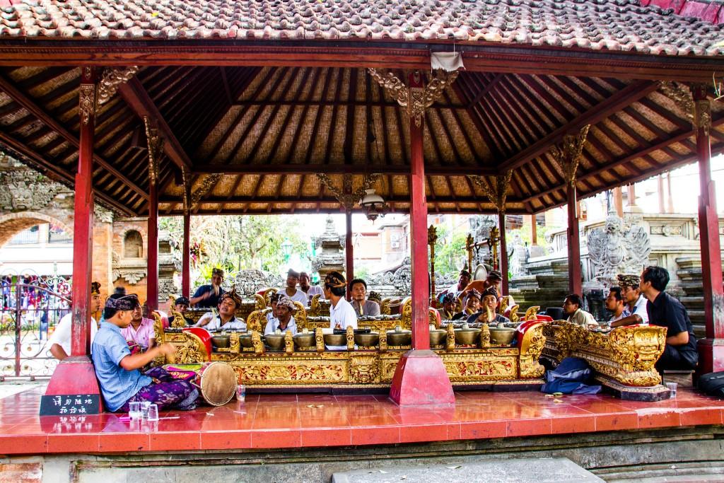 Gamelan at Ubud Palace
