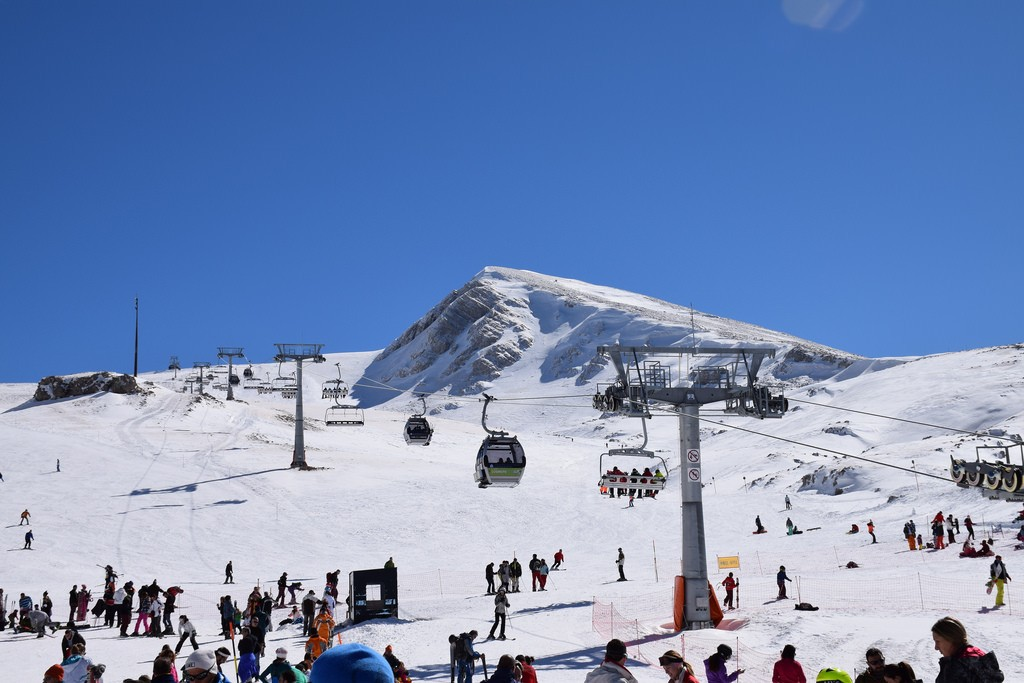 Parnassos Ski Centre in Greece! | © Trip & Travel Blog/Flickr