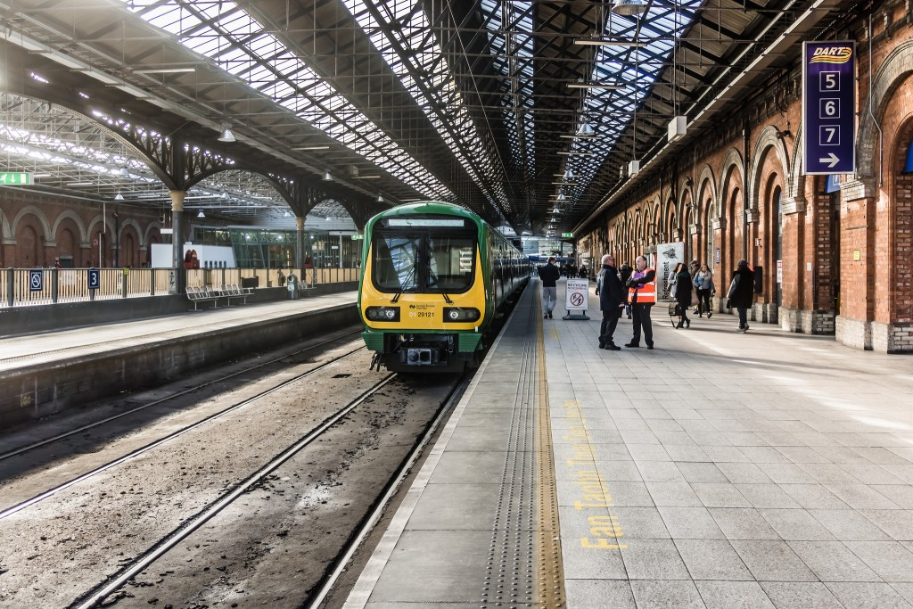 Trains in Connolly Station | © William Murphy/Flickr