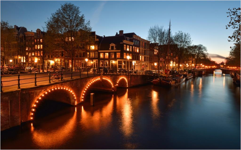 de Jordaan at night | © Bastiaan_65/Flickr