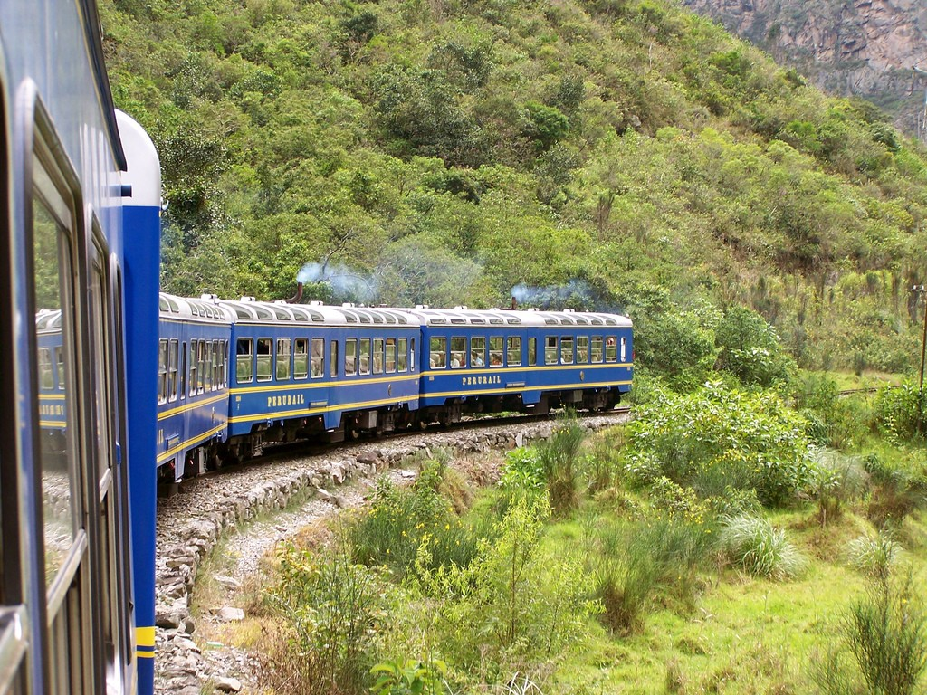The train ride from Cusco to Aguascalientes takes close to 4 hours.  © Cathy Stanley-Erickson/Flickr
