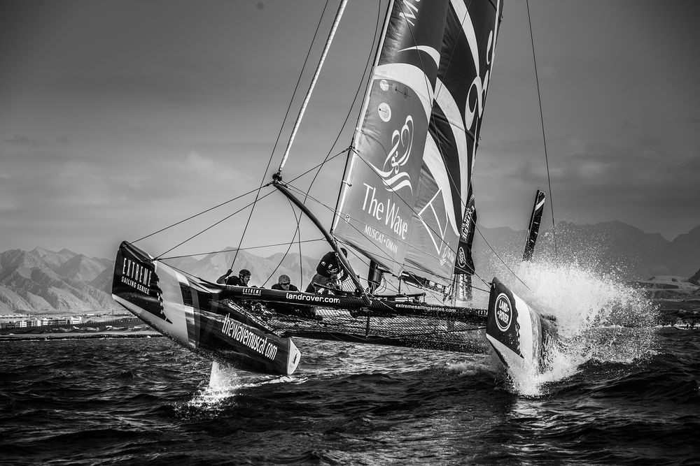 Extreme Sailing Series in Oman | © Land Rover MENA / Flickr