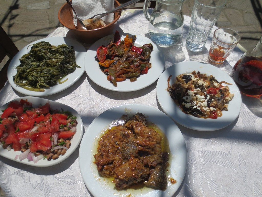 Amazing food made from the finest fresh, natural ingredients, at Popi's, Ikaria | © adamansel52/Flickr