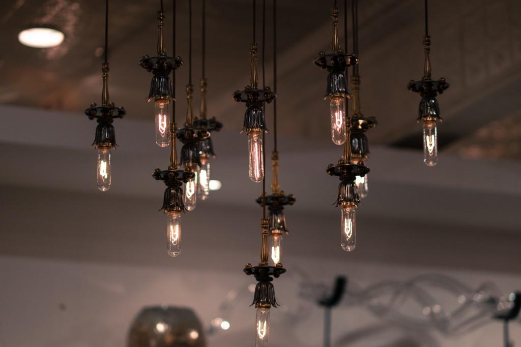 Edison Bulb Chandelier © Nan Palmero