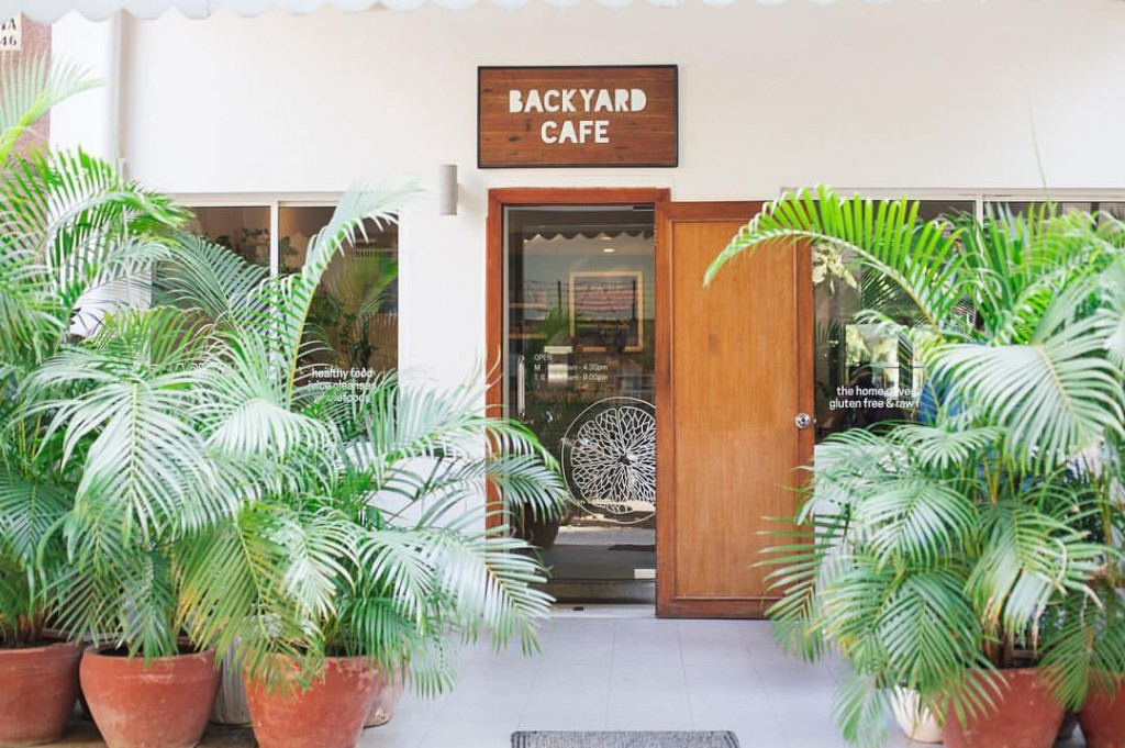 Backyard Cafe offers a range of super healthy treats © Backyard Cafe