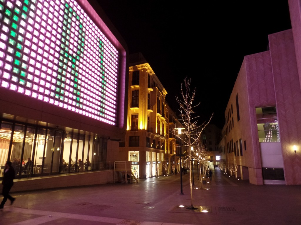 [Beirut Souks at Night] | © [Claudia Loughran]/[source, Flickr]