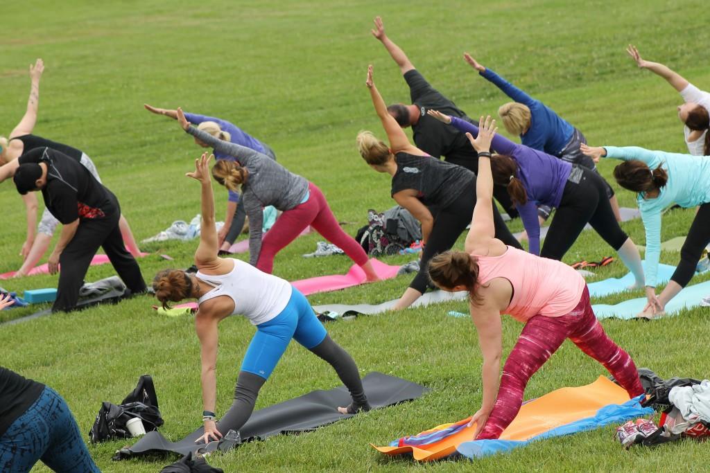 Yoga   © City of Overland Park / Flickr