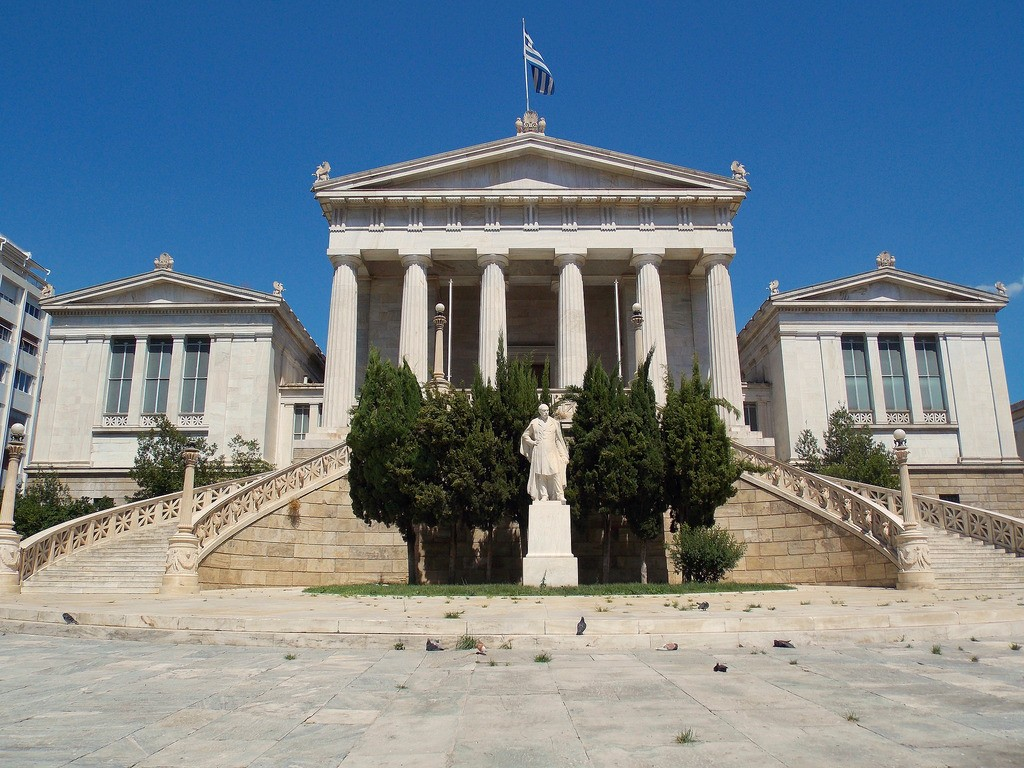 National Library of Greece, Athens | © Dimitris Kamaras/Flickr