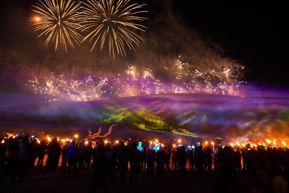 Fireworks illuminate Jeju's island sky | © Jeju Tourism Organization