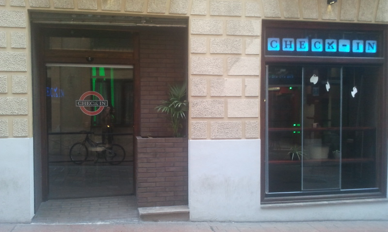 Check In bar, Realejo, Granada; courtesy of Mark Nayler