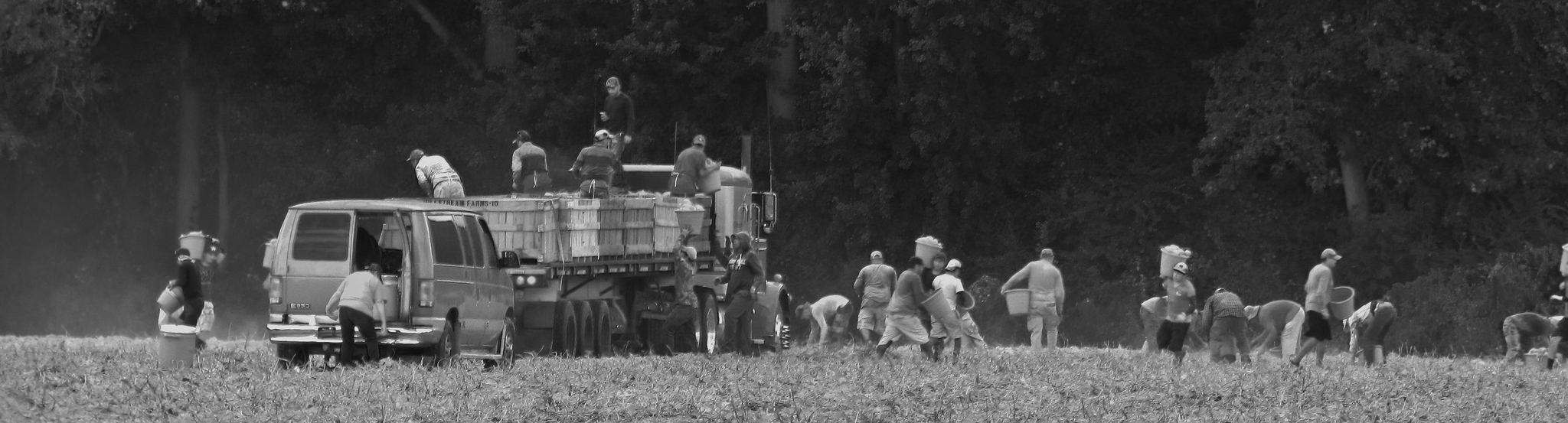 Migrant farm workers | © Gerry Dincher/Flickr