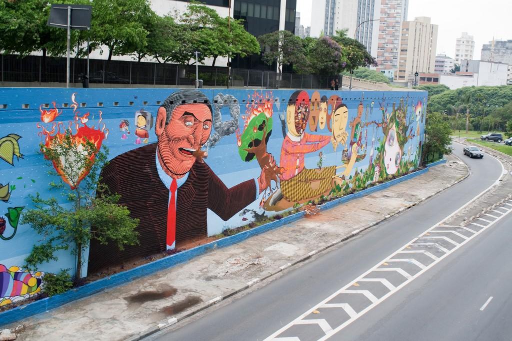 23 de Maio graffiti © Marco Gomes/Flickr