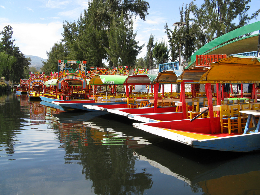 Xochimilco isn't all about the trajineras, there's also Kalyman Reggae | © Christian Córdova/Flickr