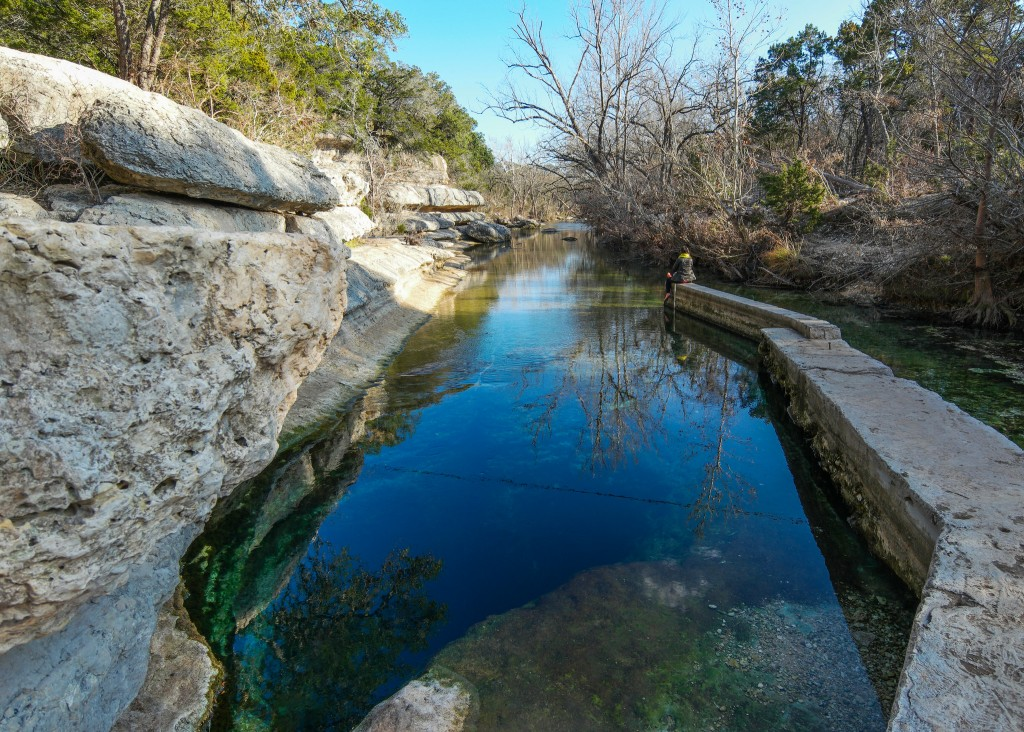Jacob's Well Natural Area © Nan Palmero