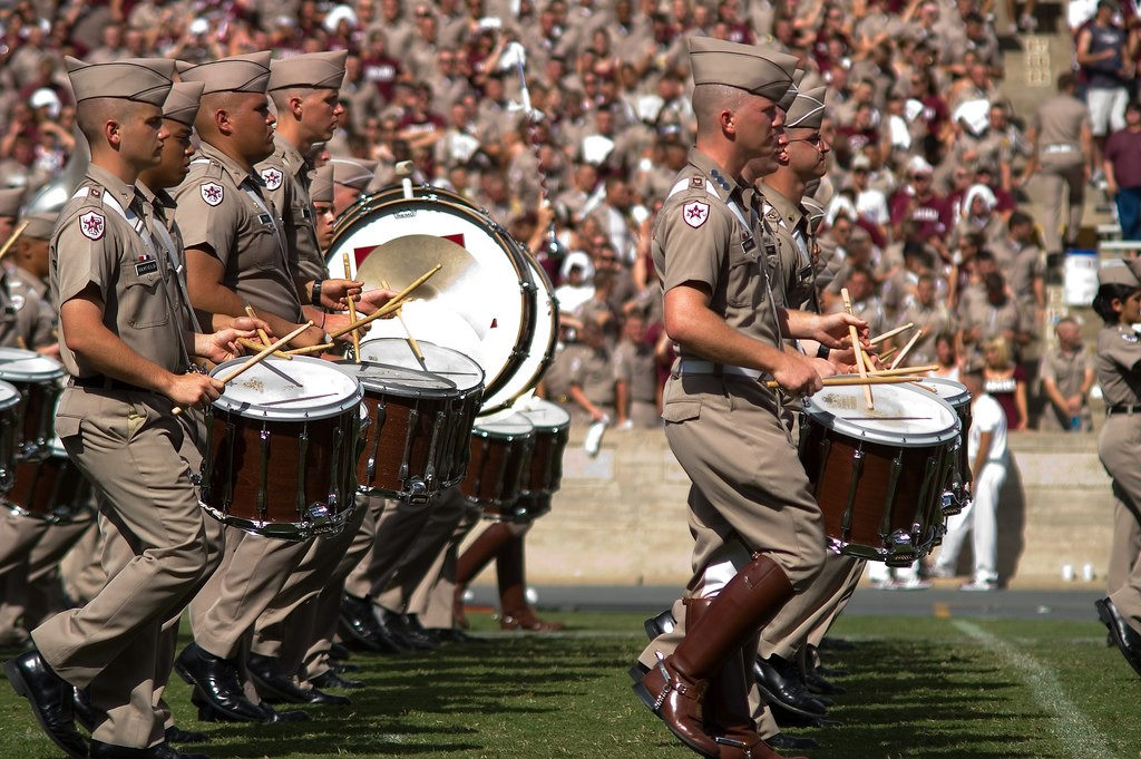Fightin' Texas Aggie Band © Stuart Seeger