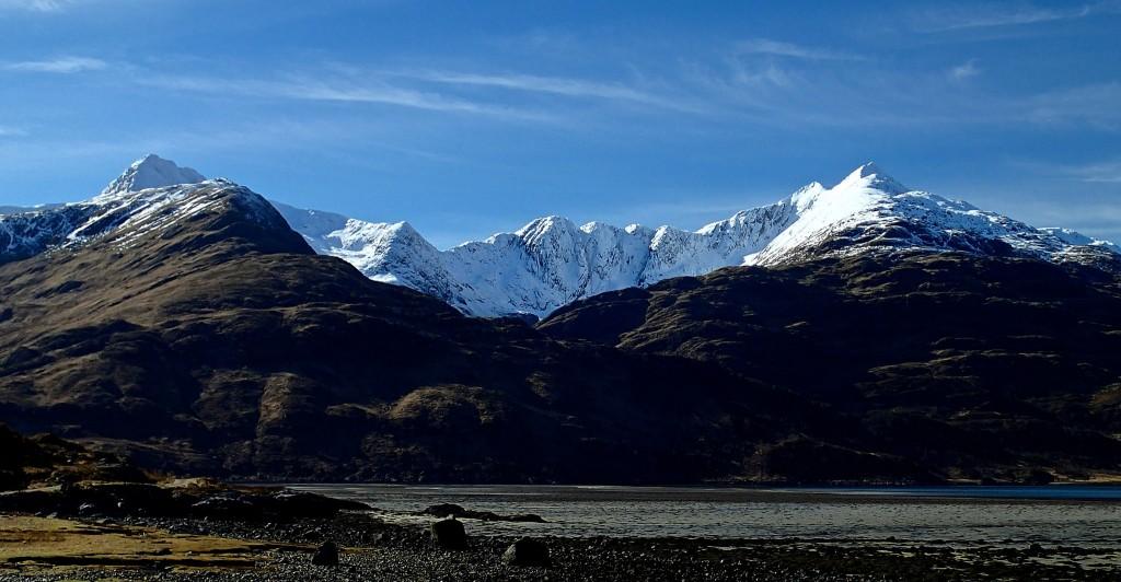 Loch Hourn and Ladhar Bheinn | © Masa Sakano/Flickr